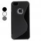 с формой мягкий чехол для iphone 5/5s (разных цветов)