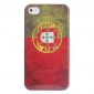 Antique Portugal Flag Case for iPhone 4 and 4S