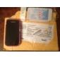 caso modelado floral de proteção para Samsung i9000 (roxo)