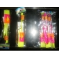 LED Amazing Flying Helicopter Umbrella Jet Device Rubber Dragonfly (3 Sets)