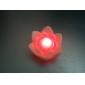 Urocza Lamka Nocna LED w Kształcie Kwiatu Lotosu (3 x AG13)
