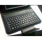 คีบอร์ดบลูทูธ 3.0 QWERTY พร้อมที่วางสำหรับ Samsung Galaxy Tab2 P3100