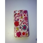 Colorful Flowers Pattern Hard Protective Cover Case for iPhone 4