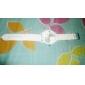 Mulheres Relógio de Moda Quartz Banda Doce Preta / Branco / Azul / Rosa / Amarelo marca-