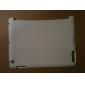 mince affaire de TPU givrée de protection pour iPad 2 (couleurs assorties)