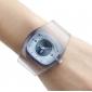 여성의 플라스틱 아날로그 석영 손목 시계 (여러 색)