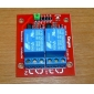 (Для Arduino) 2-канальный доску 5В реле модуля расширения