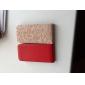 아이폰 5/5S (분류 된 색깔)를위한 가벼운 표면 pu 가죽 상자