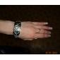 модной женской шт кварцевые часы браслет с серебристой группы сплава