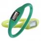 Coppia di orologi sportivi, in silicone, unisex, alla moda - Verde e Lime