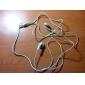 Maike MK-EL525 Stereo In-Ear Earphones (White)