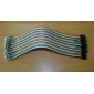 Male to Male Breadboard Wires for Electronic DIY 22cm