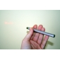 Stainless Steel 5mW Red Laser Pointer Pen - Silver(2 x AAA batteries,not included)