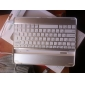 Aluminum Encased Wireless Bluetooth Keyboard for iPad 2 with USB Charging Cable (White)