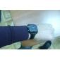 weide® mænd pu analog - digital multi-bevægelse armbåndsur (sort)