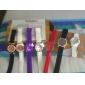 Montre Sportive LED en Plastique, Cadran Rond, Unisexe - Noire