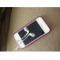 Etui Antichocs Phosphorescent pour iPhone 4 - Violet