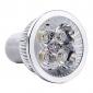 GU10 4 Вт 400 лм 3000-3500 K светодиодная точечная лампа, теплый белый свет (85-265 В)