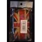 Vanhanaikainen Ison-Britannian lippu kuvioinen kova kuori iPhone 4/4S:lle (Ison-Britannian lippu)