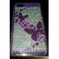 Case Dura para iPhone 4/4S - Borboletas Púrpura