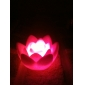 Charming Lotus Shaped Colorful LED Night Light (3xAG13)
