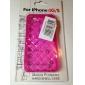 아이폰4/4S용 격자무늬 TPU보호케이스 (여러색상)