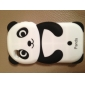 Lovely Panda Pattern Silicone Case for iPhone 4 and 4S (Multi-Color)