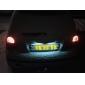 T10 10x1210 SMD White LED for Car Signal Lamps (2-Pack, DC 12V)