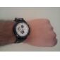 unisex gummi analog kvarts armbandsur (blandade färger)