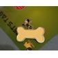 cane zampa modello osso stile cane nome del tag id (colori assortiti)