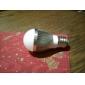 LED, a sfera, E27 4.5W 15x5630SMD 360LM 5000K, bianco naturale (220V)