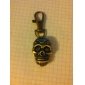 Unisex Alloy Analog Quartz Keychain Watch with Skull Heads (Bronze) Cool Watches Unique Watches