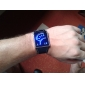 29-블루 LED 패턴 스타일 손목시계(블랙)
