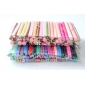 100ks 3d třtiny tyč tyč samolepka dekorace nehtů (náhodné barvy)