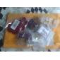 especiais de gota brincos estilo retro para as mulheres (roxo)
