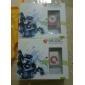plug mini-clip em micro sd leitor de cartão do tf mp3 player de música - maçante-vermelho