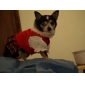шотландский плед платье танцев для собак (XS-XL)