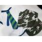 camisa de algodón de estilo camuflaje para perros (xs-l, verde)