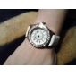 Women's Fashion Diamond Case Leather Band Japan Quartz Watch Cool Watches Unique Watches