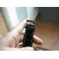 Unisex LED Binary System Display Black PU Leather Wrist Watch