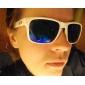 UV400 UV suoja aurinkolasit valkoisilla kehyksillä ja kantopussilla
