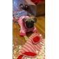 Dog Hoodie Pink Dog Clothes Winter Spring/Fall Hearts Casual/Daily