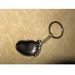 les amateurs de porte-clés inox (pied gauche et pied droit / 2-pièces)
