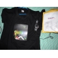 Camiseta LED Activada Por Música y Sonido, de Diseño con Chica Escuchando Música - 3 Baterías AAA