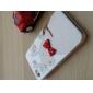 caso de corpo inteiro para 4/4s iphone - coelho gravata borboleta