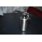 Stainless Steel Circular Liquor Flask Keychain (1.0 oz)