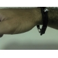 Bracelet cuir de vachette tressé de eruner®men (couleurs assorties)