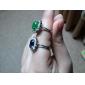 Lureme®Fashion Crystal Diamond Studded Ring