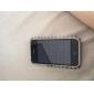 affaire avec des cristaux de protection pour iPhone 3G/3GS (noir et blanc)