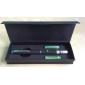 długopis kształt astronomia 5mw 532nm zielony wskaźnik laserowy z baterii (2xAAA)